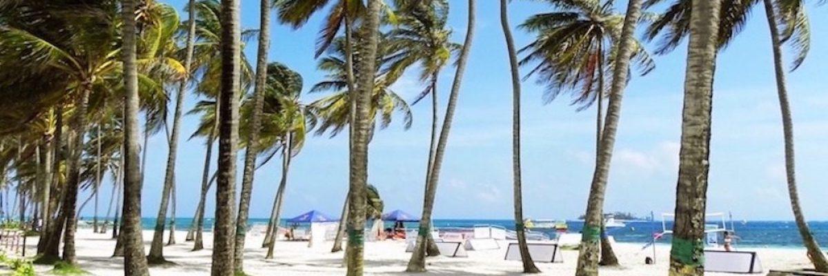 Group travel Beach