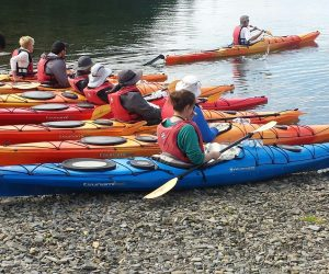 Incentive travel kayaking