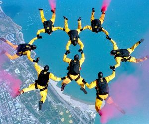 Skydiving Team Incentive Acitvity